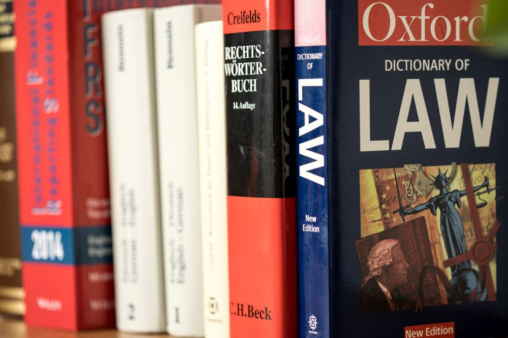 Juristische Übersetzung Testament übersetzen